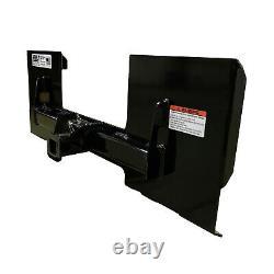 Skid Steer Loader Quick Attach Plate Receiver Hitch 2 Bobcat, Case, John Deere
