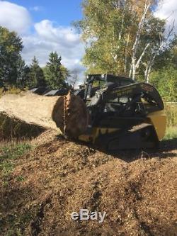 Skid track loader 1500h // NEW HOLLAND // very good shape bran new tracks 100h