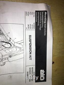 Soft Drive Suspension Kit Front End Loader Tractor