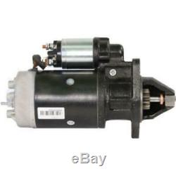 Starter Fits New Holland Loader Motor Grader Windrower Lb75 Lb90 Lb95 Lb110-115