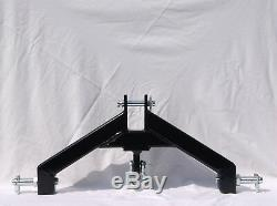 TRACTOR attachment 3 pt hitch Hd log Skidder category 1 made USA