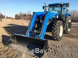 Tractor Wheel Loader New Holland 2011 Very Clean 1988h Full Service