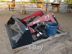 Tractor front end loader, bucket New Holland, IH
