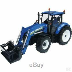 Universal Hobbies New Holland T5.115 Tractor & Loader 132 Scale Model Gift Toy