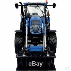 Universal Hobbies New Holland T6.145 Tractor With Loader 132 Scale Model Gift
