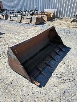 Used 72 loader tractor/backhoe bucket