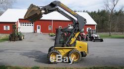 Very Nice New Holland L160 Skid Steer Loader 45hp Diesel 1600 Pound Lift 1 Owner