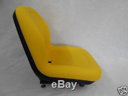Yellow Seat John Deere, Bobcat, Ford, New Holland, Case, Gehl Skid Steer Loaders #oc